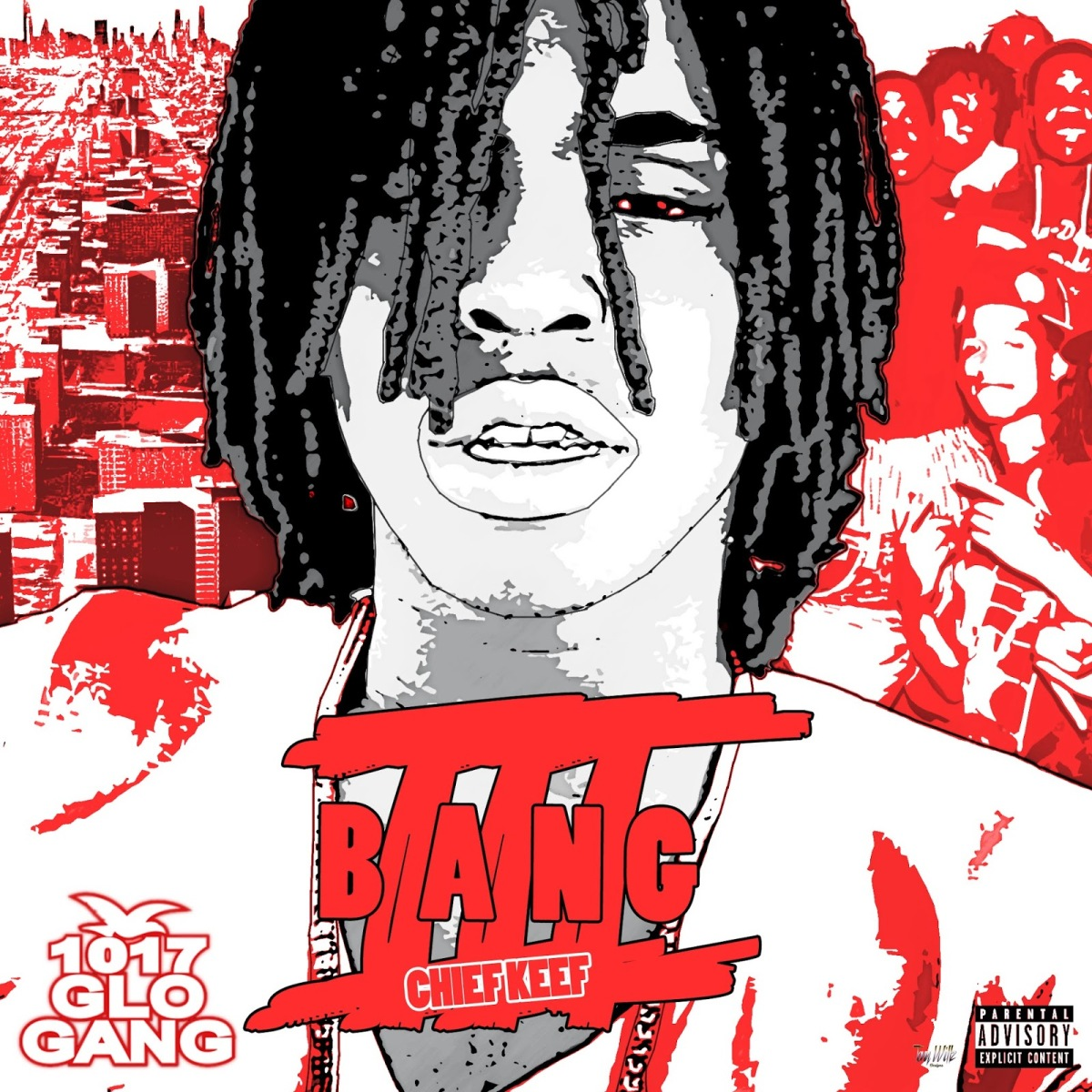 "stream chief keef's new mixtape ""Bang 3"""