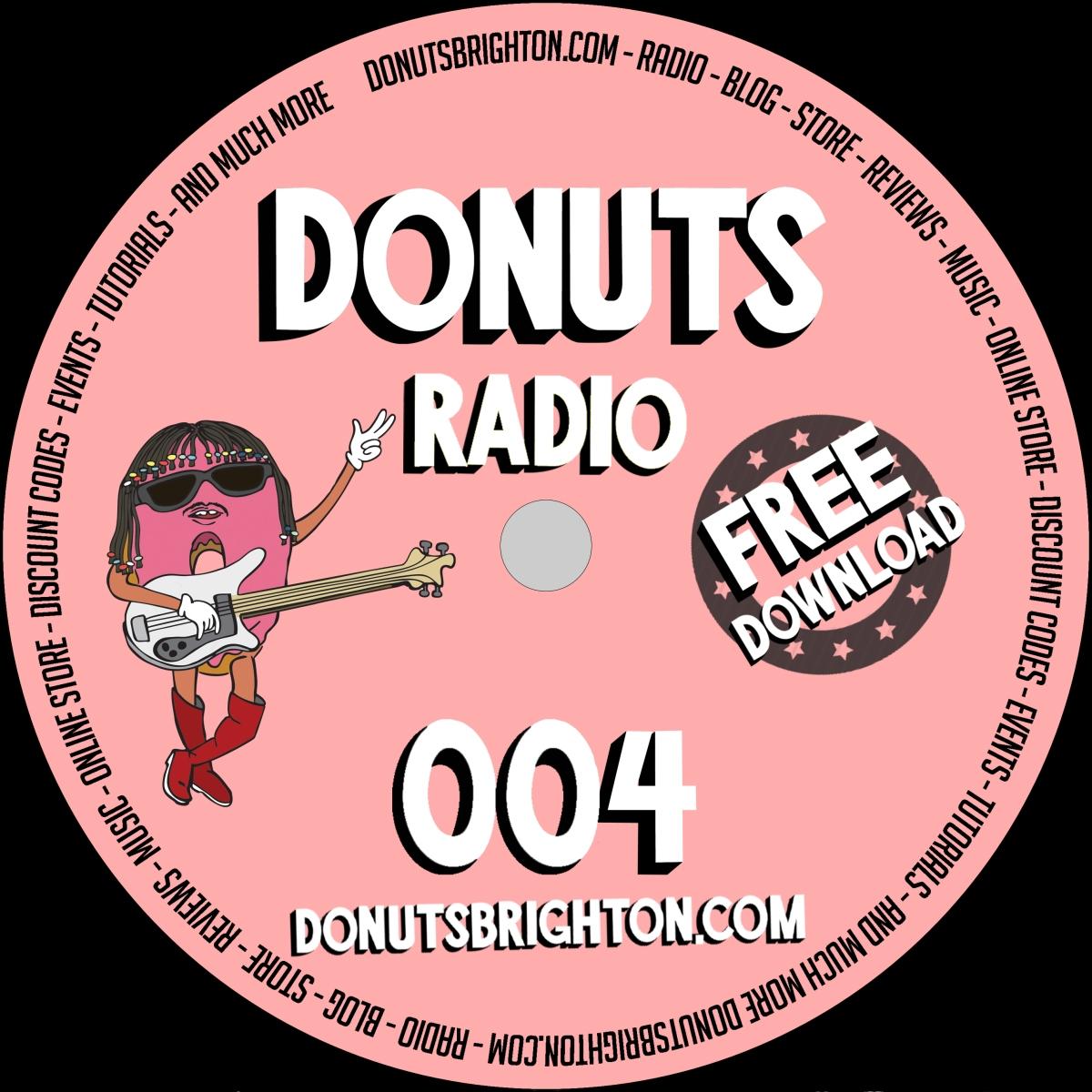 DONUTS RADIO 004