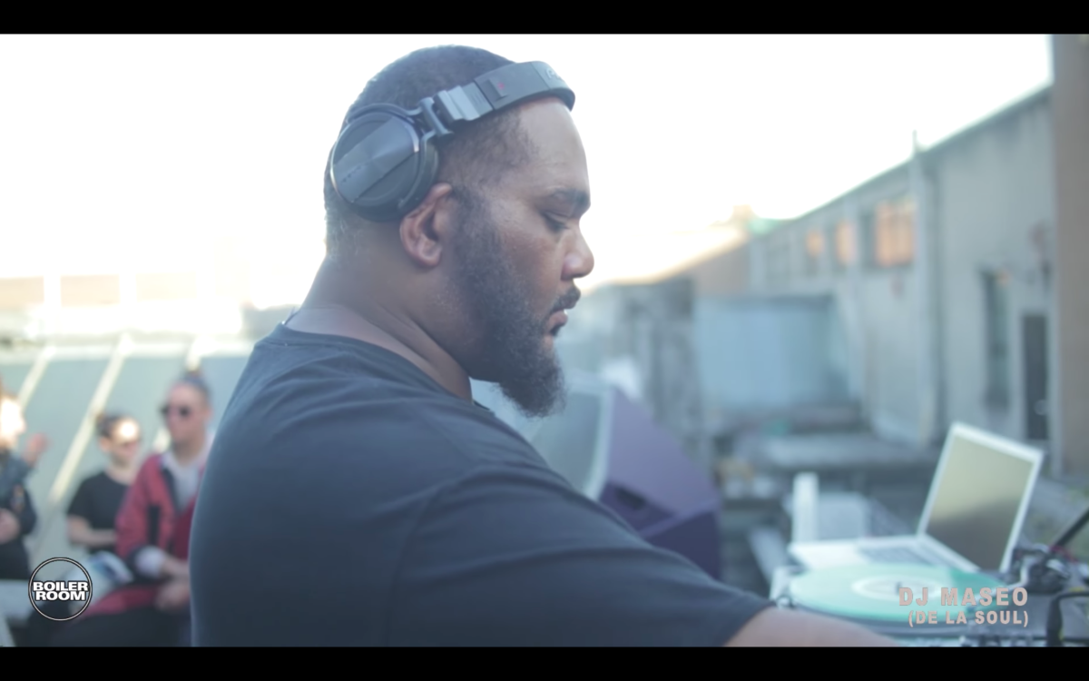De La Soul's DJ Maseo sets up the perfect summer BBQ soundtrack on Boiler Room's recent London stream